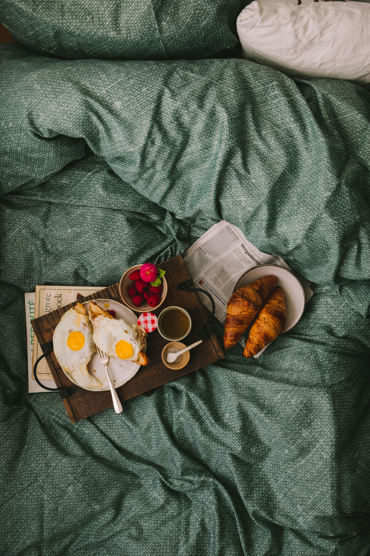 foodstyling op bed Mylucie.com